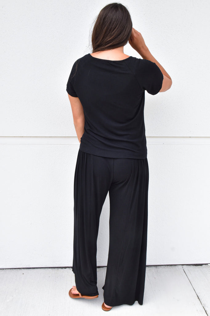 The Dior Lounge Pants- Black