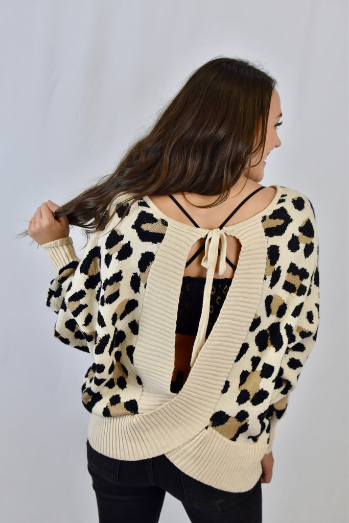 The Ashley Leopard Sweater