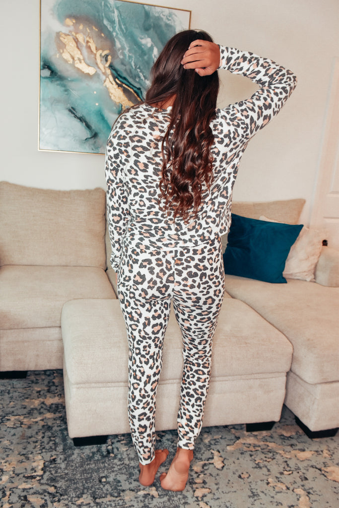 The Luxe Leopard Lounge Set