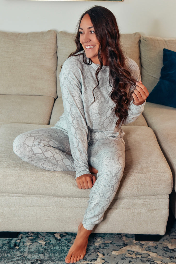 The Luxe Python Lounge Set