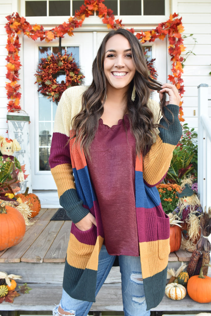 Autumn Traditions Cardigan