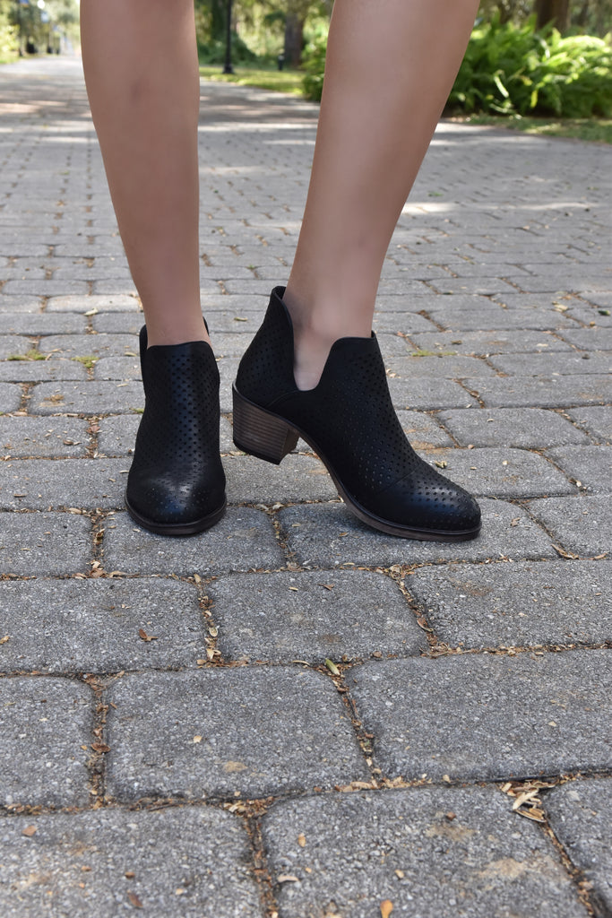 The Zoe Black Bootie