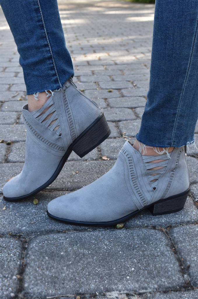 The Catherine Grey Bootie