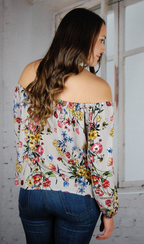 My Perfect Love Floral Blouse