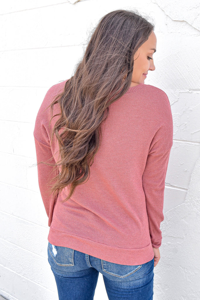 Button Me Up Long Sleeve Knit