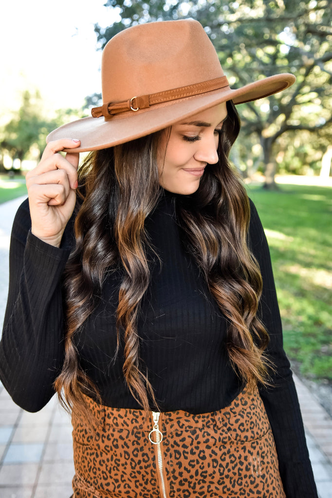 *RESTOCKED*! The Charolette Hat- Brown