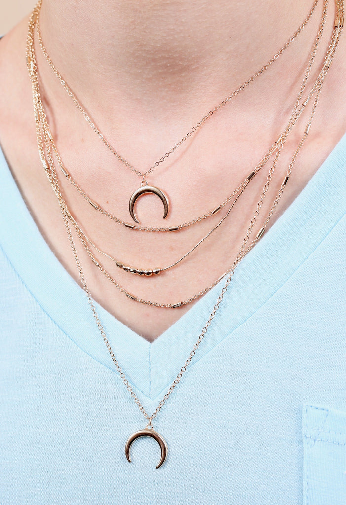 Rowley Cresent Layered Necklace
