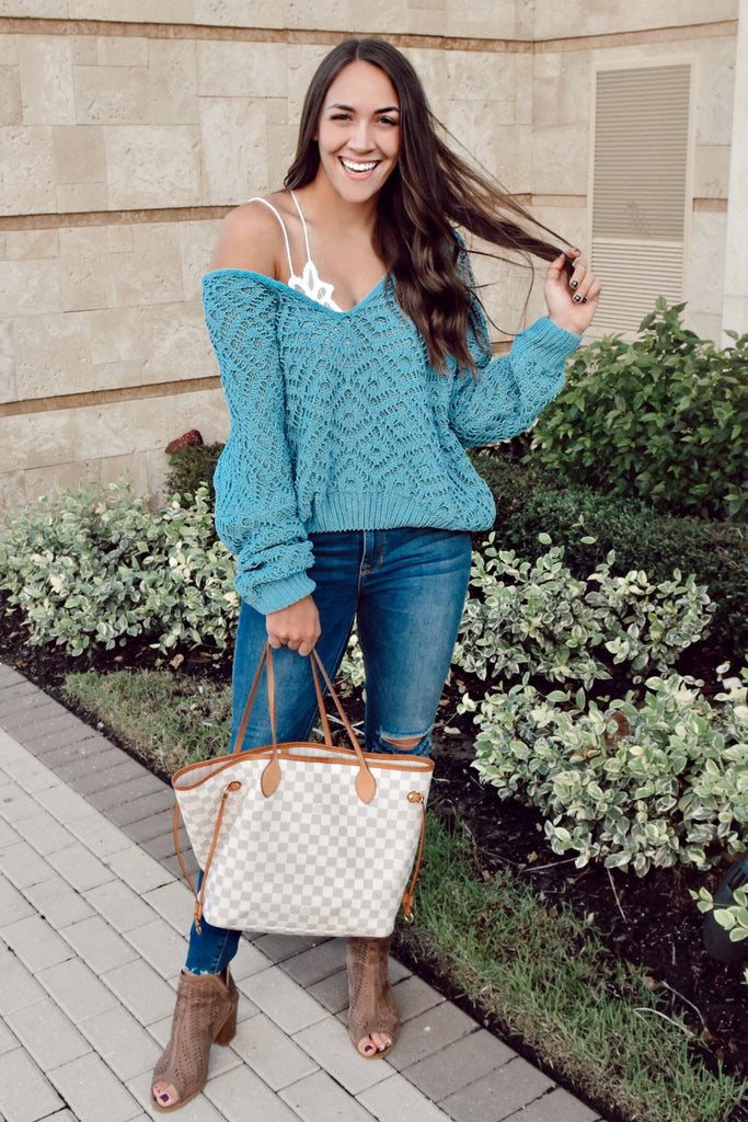 Emerald Goddess Sweater