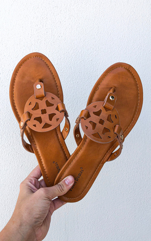 *RESTOCKED* The Pierre Sandal- Tan
