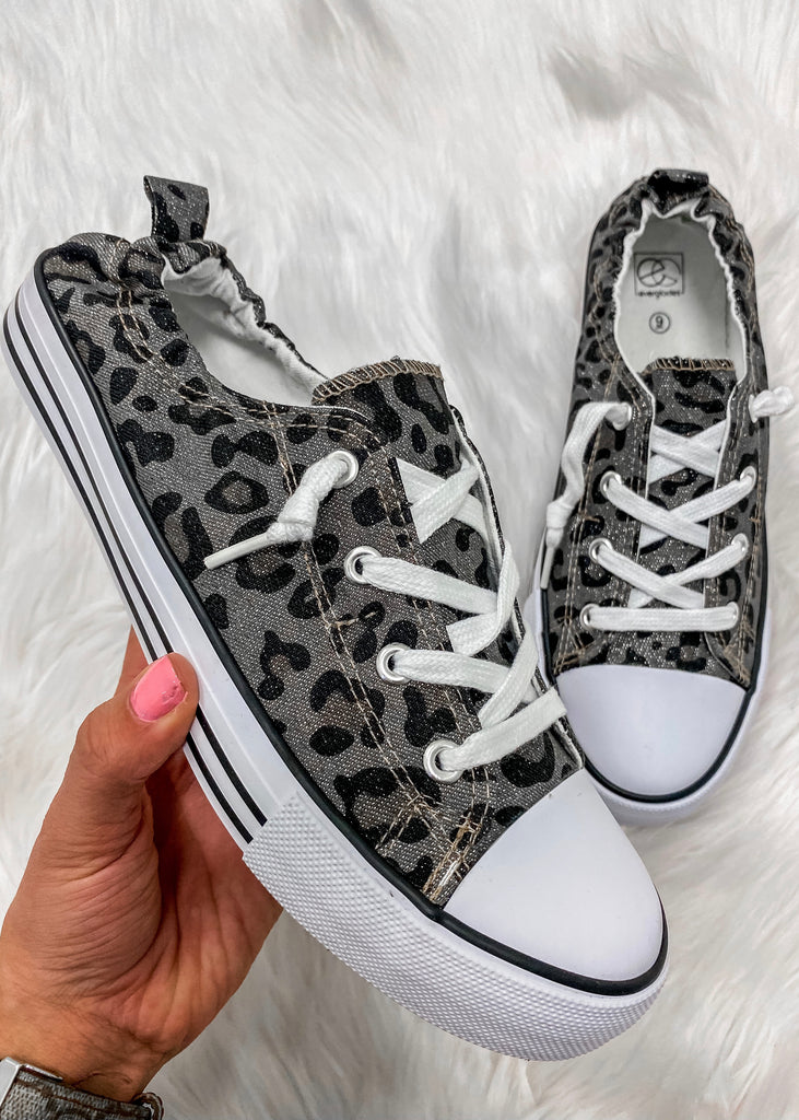 Leopard Kickin' It Sneaks - Vogue Society