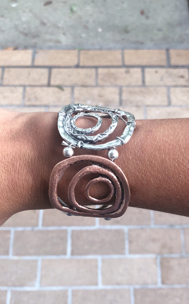 Multi Circle Stretchy Bracelet