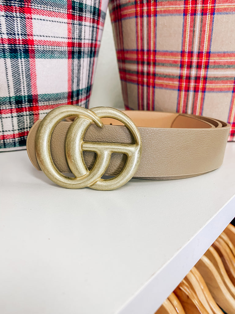 Taupe GG Belt
