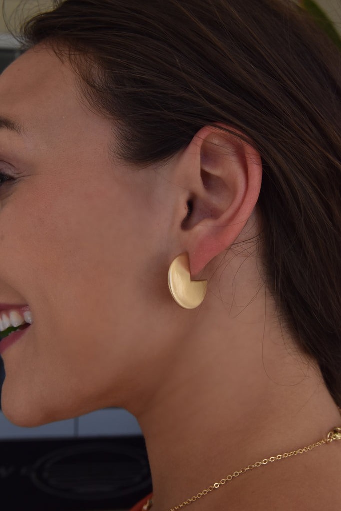 Complete Me Gold Earring