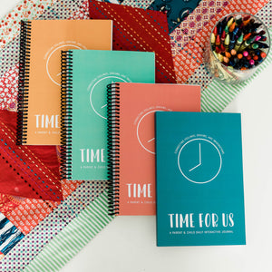 Time For Us Coil Bound Parent/Child Journal