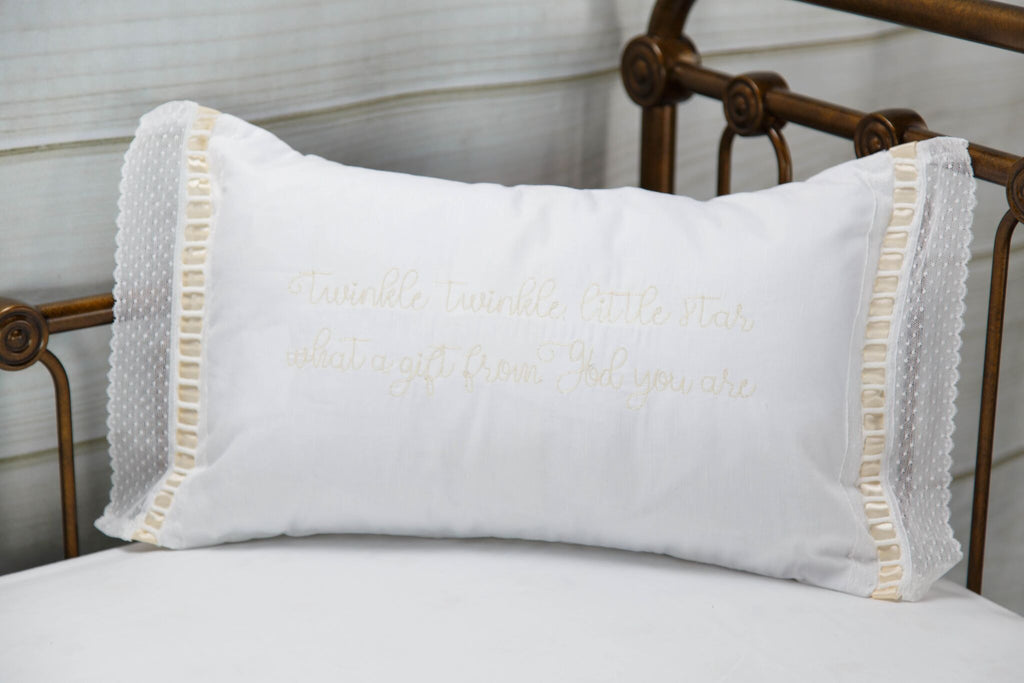Elizabeth Heirloom Pillow Quote