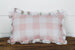 Pink Buffalo Check Lumbar Pillow