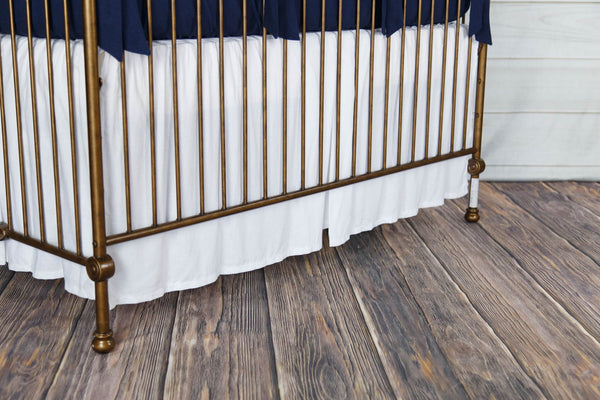 Piper Pleated Crib Skirt
