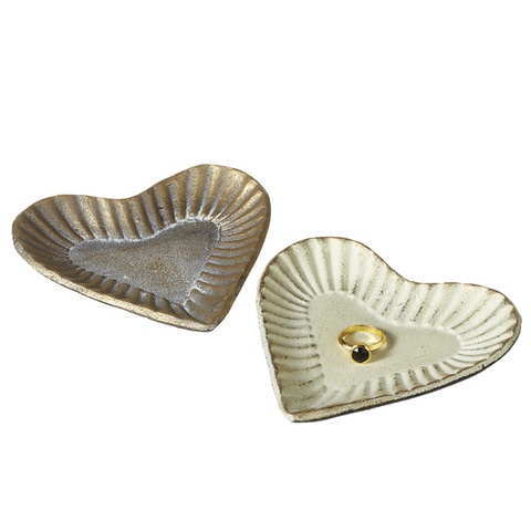 Heart Trinket Dish, Vintage-Inspired