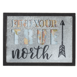 "Home Decor, Wall Accent, ""Find Your True North"""
