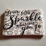 "Makeup Bags - ""Sparkle"" Collection"