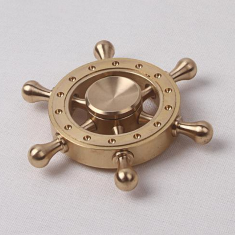 Ship Wheel Fidget Spinner
