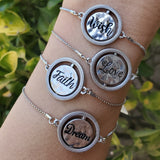 Reversible, Spinning Charm Bracelet (Available for a Limited Time)