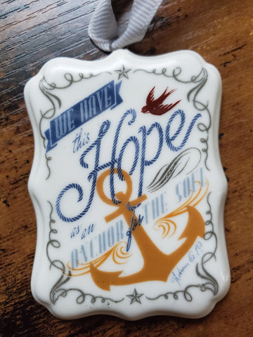 Hope Ornament to #HelpBuildHope