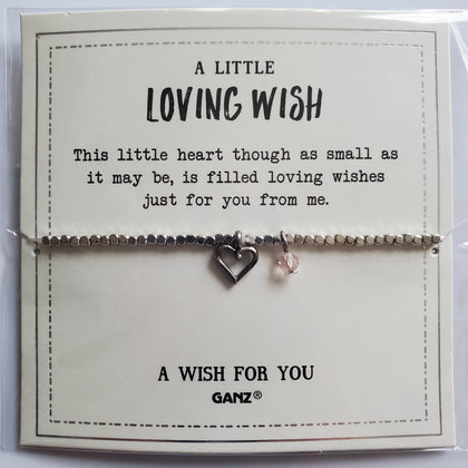 """A Little Loving Wish"" Bracelet"