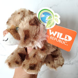 Hug'ems Mini Bobcat & Donated Stuffed Animal