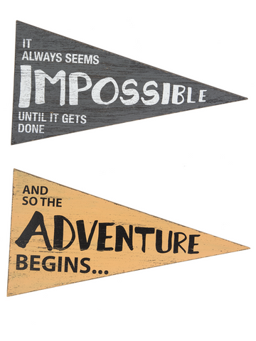 Pennant Signs of Inspiration