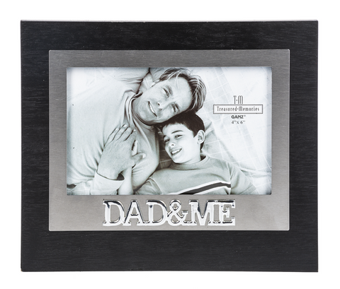 Treasured Memories Picture Frame, Dad & Me