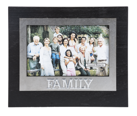 Treasured Memories Picture Frame, Family