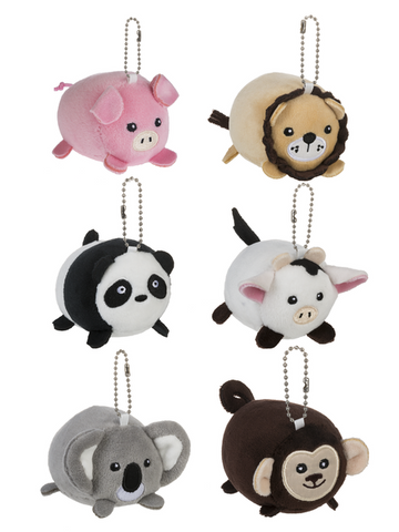 Squishy Animal Keychain