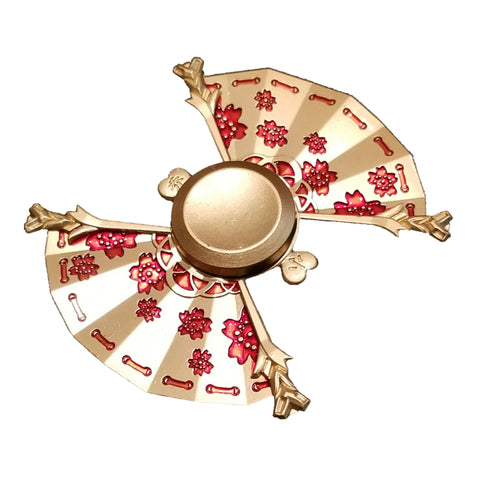 Double Fan Fidget Spinner