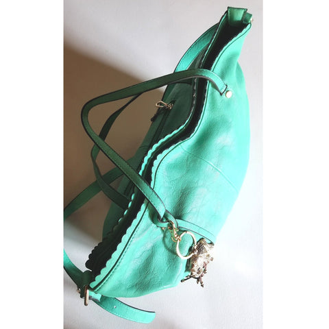 Purse | Green Diophy Purse With Adjustable Strap