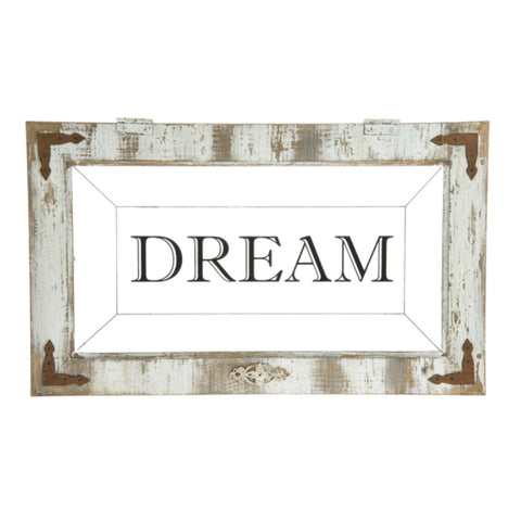 "Home Décor - ""DREAM"" Wall Accent"