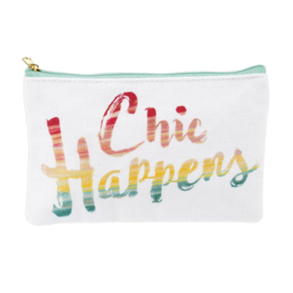 "Makeup Bag - ""Chic Happens"""