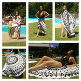 Round Beach Towel (Different colors Avail.)