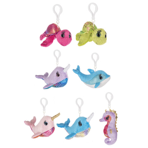 Shimmer Sea Keyclips