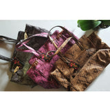 "Purse | Wine-Colored ""Snake Skin"""