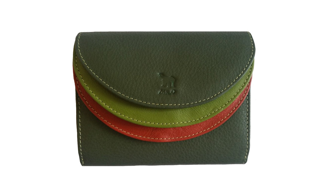 Tripple wallet - Exp 2364 Green - Expressionsmilo