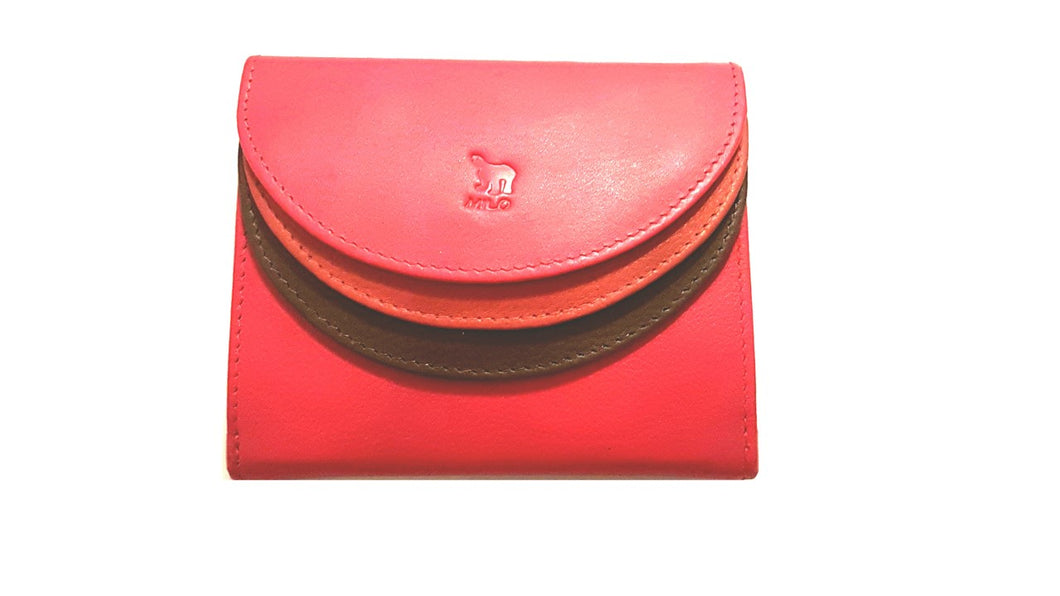 Tripple wallet - Red - Expressionsmilo