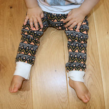 Tribal Triangles Organic COSY Leggings