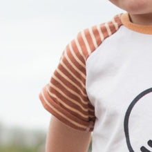 """Footprints"" Organic Eco Message T-Shirt"