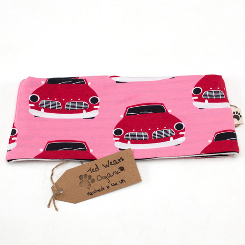 Retro Cars Reversible Loop Scarf