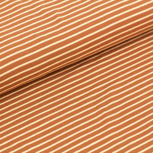 Caramel Stripes Organic Harem Pants
