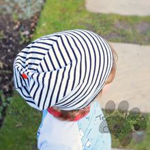Over the Sea Organic Slouchy Snap Hat