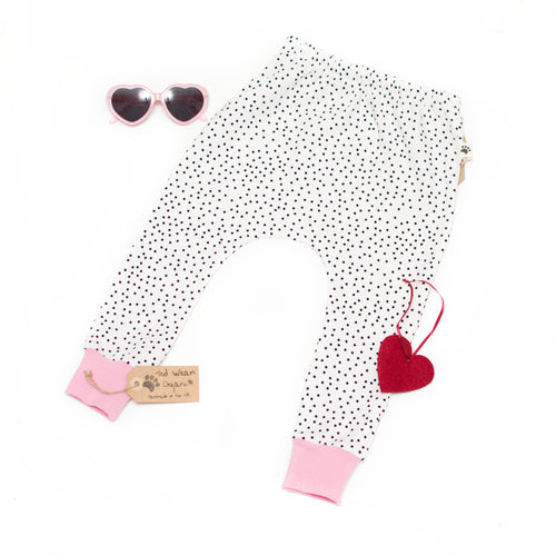 18-24m Dotty Organic Harem Pants