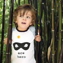 """Eco Hero"" Organic Eco Message T-Shirt"