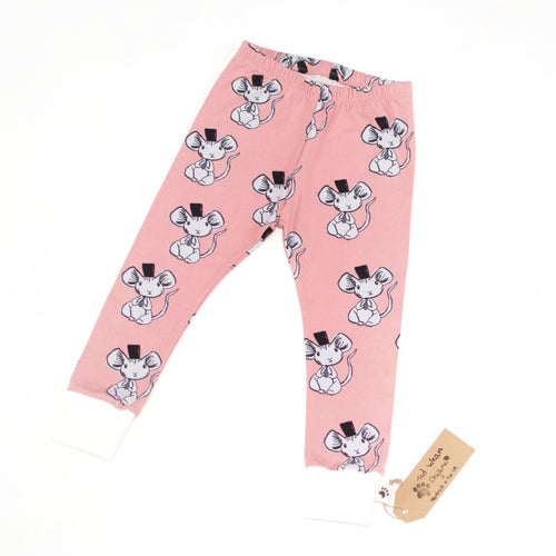 Fancy Mouse Organic Leggings